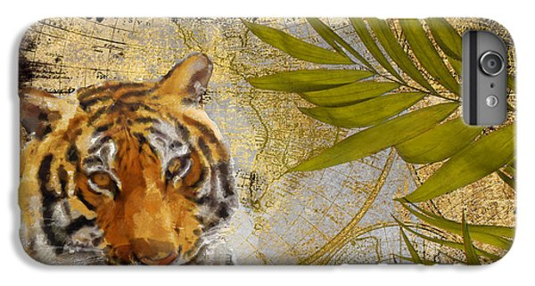 A Taste Of Africa Tiger IPhone 6s Plus Case by Mindy Sommers