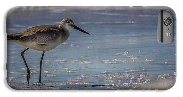 Sandpiper iPhone 6s Plus Case - A Walk On The Beach by Marvin Spates