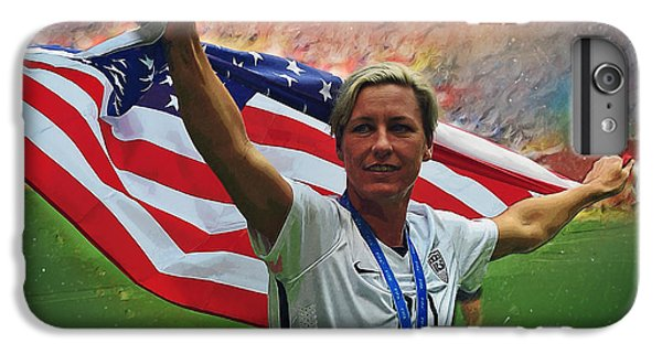 Abby Wambach Us Soccer IPhone 6s Plus Case