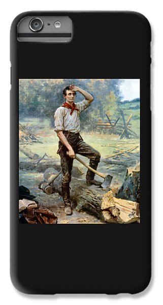 Abe Lincoln The Rail Splitter  IPhone 6s Plus Case by War Is Hell Store
