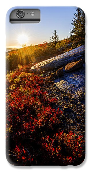 Blueberry iPhone 6s Plus Case - Above Bar Harbor by Chad Dutson