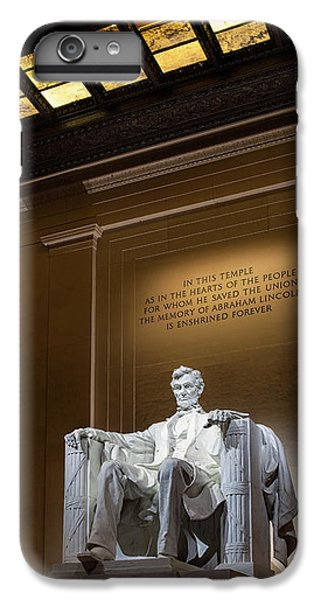 Abraham Lincoln IPhone 6s Plus Case by Andrew Soundarajan