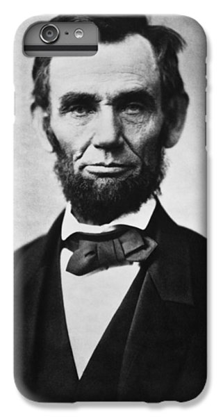 Abraham Lincoln IPhone 6s Plus Case by War Is Hell Store