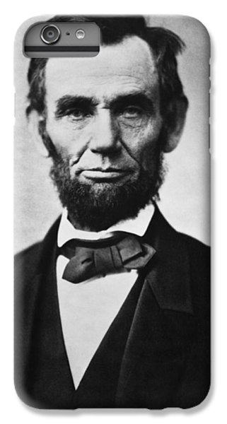 Abraham Lincoln iPhone 6s Plus Case - Abraham Lincoln by War Is Hell Store