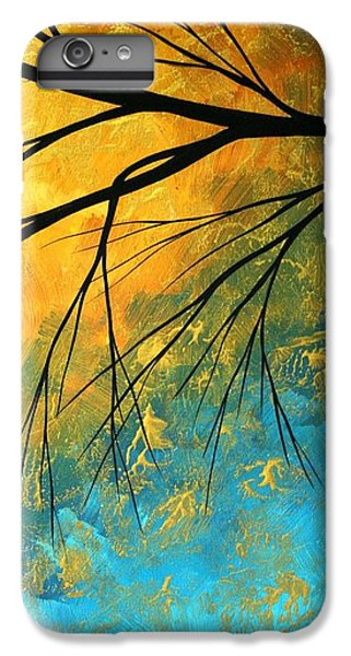Abstract iPhone 6s Plus Case - Abstract Landscape Art Passing Beauty 2 Of 5 by Megan Duncanson