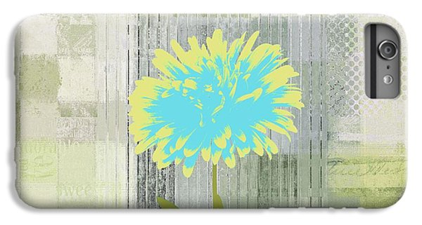 Flowers iPhone 6s Plus Case - Abstractionnel - 29grfl3c-gr3 by Variance Collections