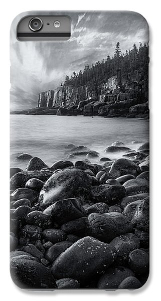 Otter iPhone 6s Plus Case - Acadia Radiance - Black And White by Expressive Landscapes Fine Art Photography by Thom