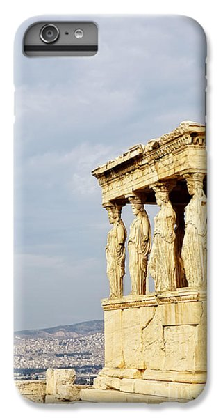 Greece iPhone 6s Plus Case - Acropolis Of Athens by HD Connelly