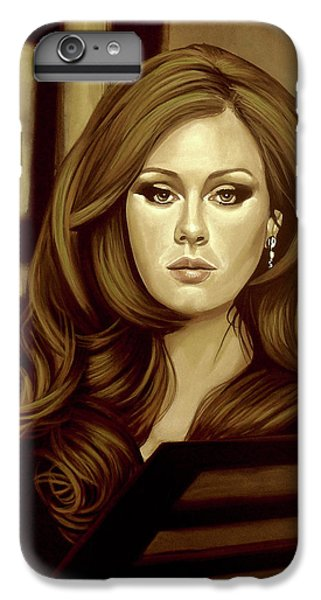 Adele Gold IPhone 6s Plus Case by Paul Meijering