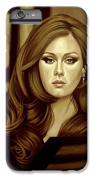 Rhythm And Blues iPhone 6s Plus Case - Adele Gold by Paul Meijering