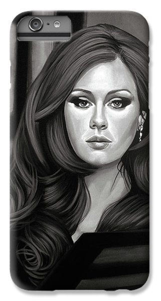 Rhythm And Blues iPhone 6s Plus Case - Adele Mixed Media by Paul Meijering