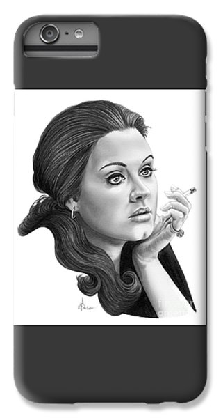 Adele IPhone 6s Plus Case by Murphy Elliott