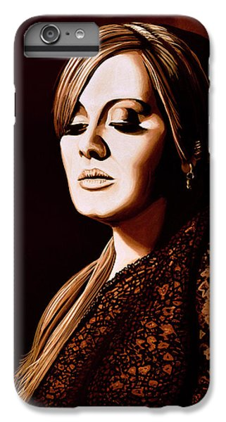 Adele Skyfall Gold IPhone 6s Plus Case by Paul Meijering