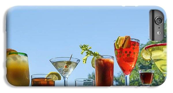Alcoholic Beverages - Outdoor Bar IPhone 6s Plus Case by Nikolyn McDonald