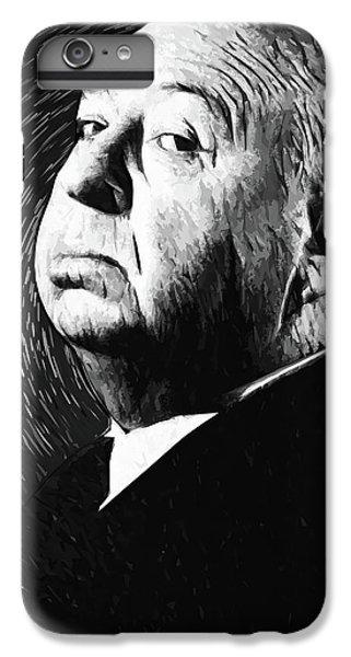 Grace Kelly iPhone 6s Plus Case - Alfred Hitchcock by Taylan Apukovska