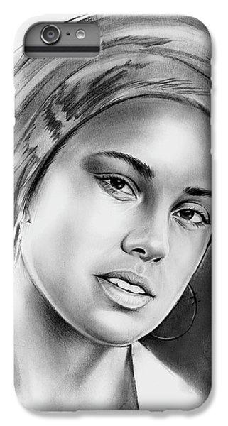Rhythm And Blues iPhone 6s Plus Case - Alicia Keys 2 by Greg Joens