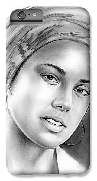 Rhythm And Blues iPhone 6s Plus Case - Alicia Keys by Greg Joens