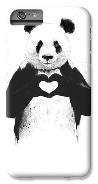 Animals iPhone 6s Plus Case - All You Need Is Love by Balazs Solti