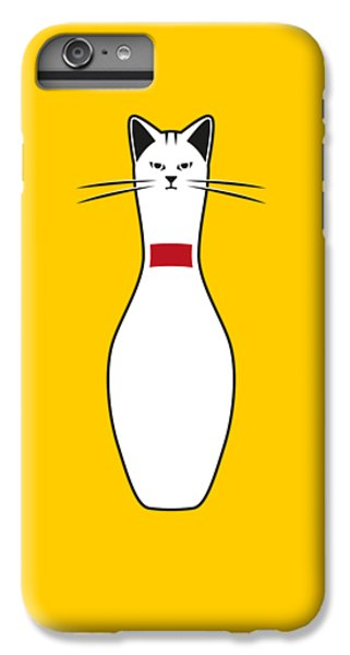 Cat iPhone 6s Plus Case - Alley Cat by Nicholas Ely