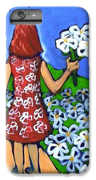 IPhone 6s Plus Case featuring the painting Along The New Path by Winsome Gunning