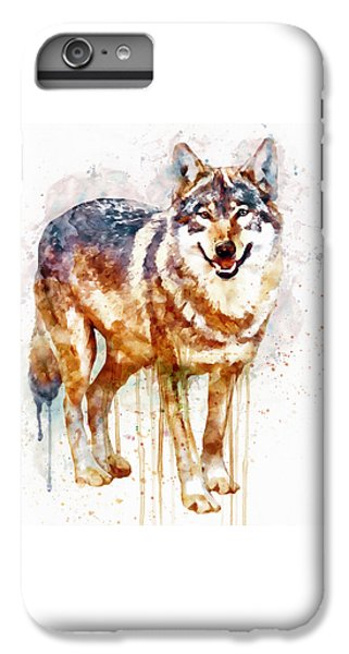 Alpha Wolf IPhone 6s Plus Case by Marian Voicu
