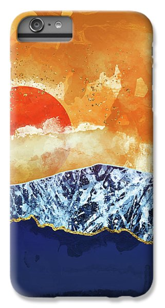 Landscapes iPhone 6s Plus Case - Amber Dusk by Katherine Smit