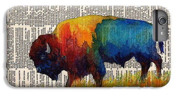 American Buffalo IIi On Vintage Dictionary IPhone 6s Plus Case