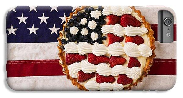 American Pie On American Flag  IPhone 6s Plus Case