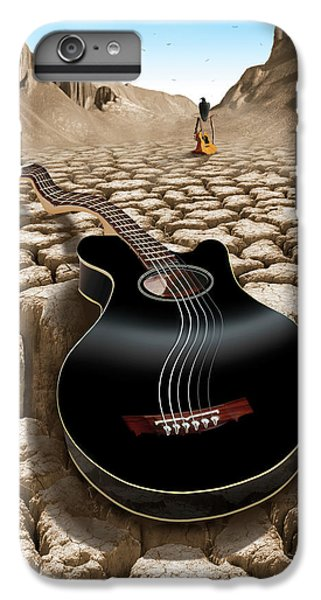 Buzzard iPhone 6s Plus Case - An Acoustic Nightmare 2 by Mike McGlothlen