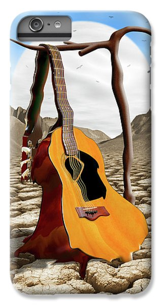 Buzzard iPhone 6s Plus Case - An Acoustic Nightmare by Mike McGlothlen