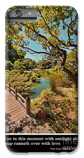 Johnny Carson iPhone 6s Plus Case - And So In This Moment With Sunlight Above by Jim Fitzpatrick