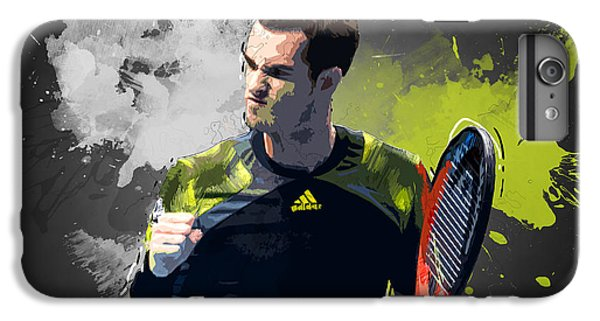 Serena Williams iPhone 6s Plus Case - Andy Murray by Semih Yurdabak