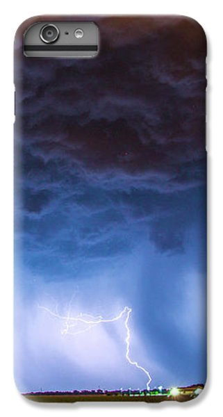 Nebraskasc iPhone 6s Plus Case - Another Impressive Nebraska Night Thunderstorm 008/ by NebraskaSC