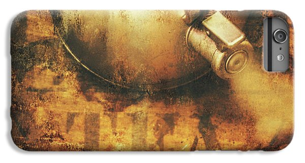 Antique Old Tea Metal Sign. Rusted Drinks Artwork IPhone 6s Plus Case