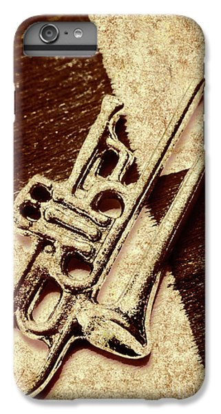 Trumpet iPhone 6s Plus Case - Antique Trumpet Club by Jorgo Photography - Wall Art Gallery