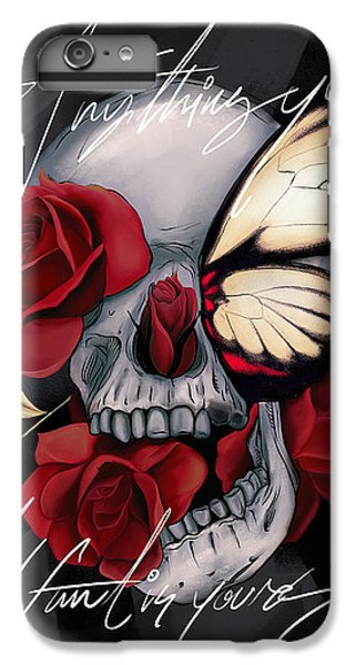 Floral iPhone 6s Plus Case - Anything You Want Is Yours by Canvas Cultures