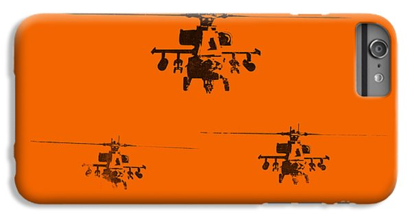Helicopter iPhone 6s Plus Case - Apache Dawn by Pixel  Chimp
