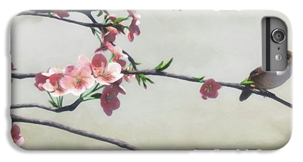 Wren iPhone 6s Plus Case - Apple Blossom by Cynthia Decker
