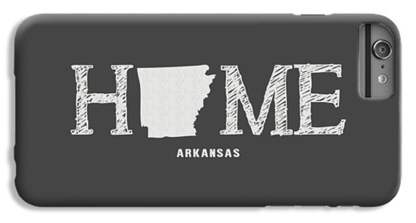 University Of Arkansas iPhone 6s Plus Case - Ar Home by Nancy Ingersoll