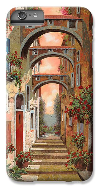 Town iPhone 6s Plus Case - Archetti In Rosso by Guido Borelli