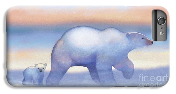 Arctic Bears, Journeys Bright IPhone 6s Plus Case by Tracy Herrmann