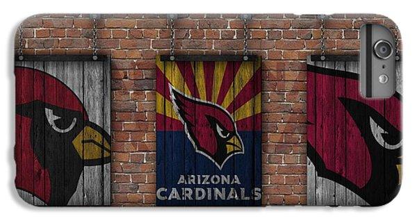 Arizona Cardinals Brick Wall IPhone 6s Plus Case by Joe Hamilton