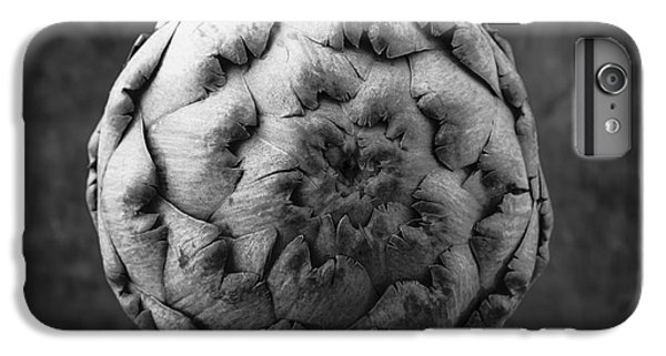 Artichoke Black And White Still Life Two IPhone 6s Plus Case by Edward Fielding