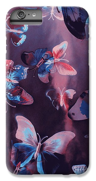 Fairy iPhone 6s Plus Case - Artistic Colorful Butterfly Design by Jorgo Photography - Wall Art Gallery