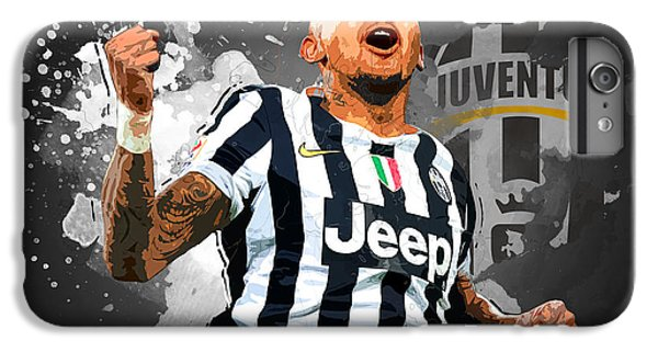 Arturo Vidal IPhone 6s Plus Case by Semih Yurdabak