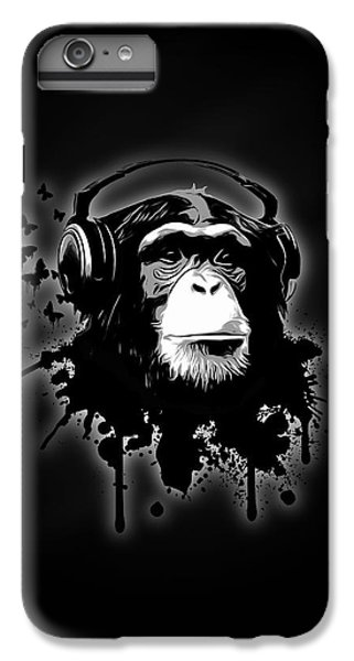 Monkey Business - Black IPhone 6s Plus Case by Nicklas Gustafsson