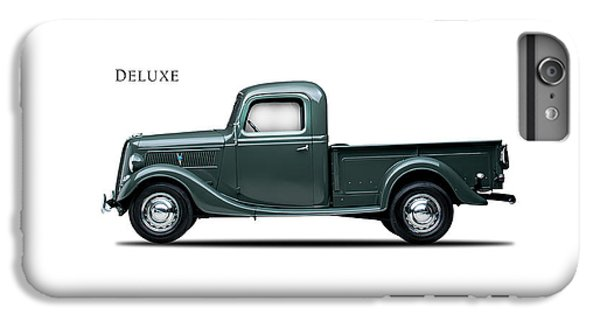 Ford Deluxe Pickup 1937 IPhone 6s Plus Case by Mark Rogan