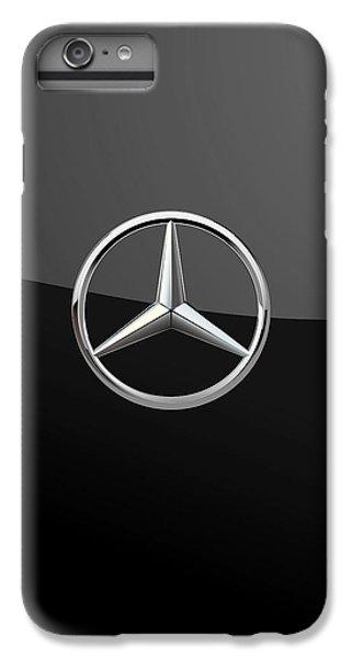 Mercedes-benz - 3d Badge On Black IPhone 6s Plus Case