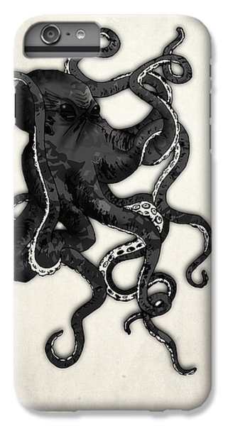 Animals iPhone 6s Plus Case - Octopus by Nicklas Gustafsson