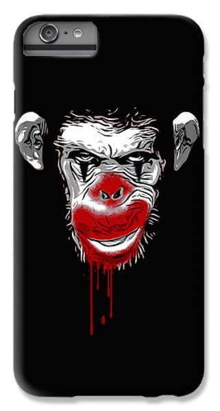 Evil Monkey Clown IPhone 6s Plus Case by Nicklas Gustafsson